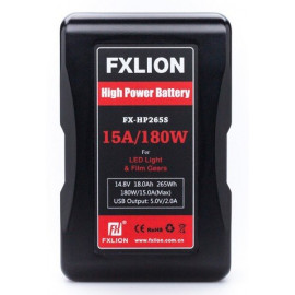 FXLION - V‐mount li‐ion battery, 14.8V, 265Wh
