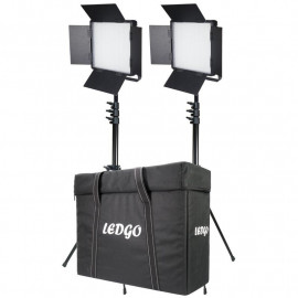 LEDGO - Daylight LED Pannel 1200 5600K ABS 2KIT+T