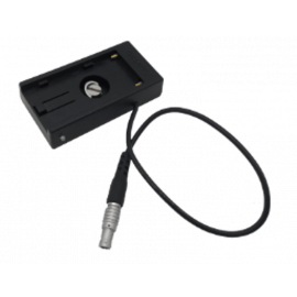 CVW - SONY NPF type battery dock with lemo plug socket